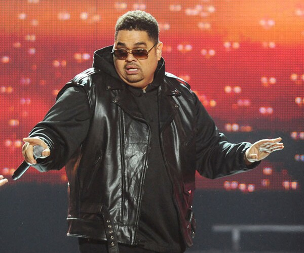 """Rapper Heavy D, real name Dwight Arrington Myers, collapsed outside his Beverly Hills home on Tuesday and was later pronounced dead at a local hospital. The Jamaican American singer launched his career in the late 1980s with the albums """"Living Large"""" and """"Big Tyme."""" He went on to act in projects such as """"Big Trouble"""" and """"Tyler Perry's House of Payne."""" Recently, Heavy D returned to rap, performing for the first time in 15 years at the BET Hip Hop Awards (pictured) in October 2011."""