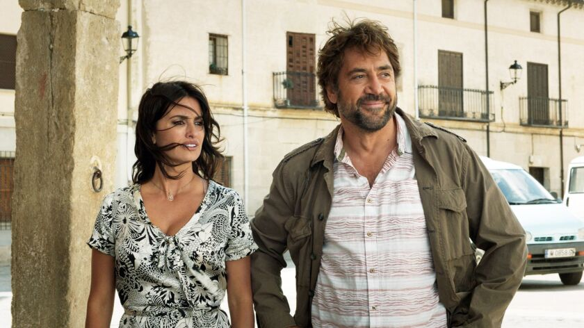 """(L-R) - Javier Bardem and Penelope Cruz in a scene from """"Everybody Knows."""" Credit: Festival De Cann"""