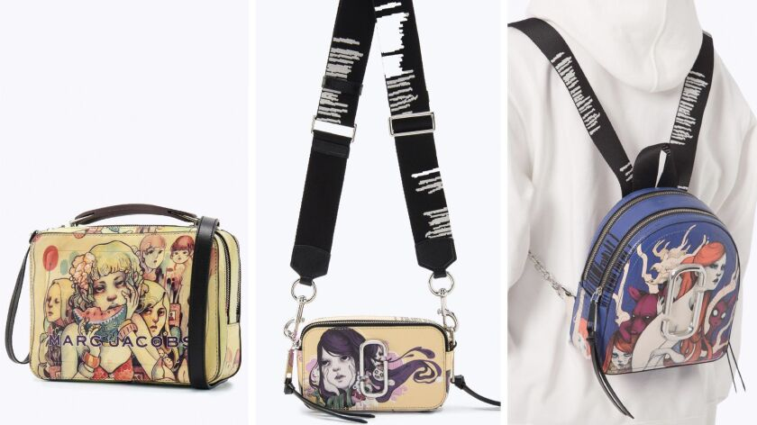 Bags from the Lauren Tsai and Marc Jacobs collaboration.