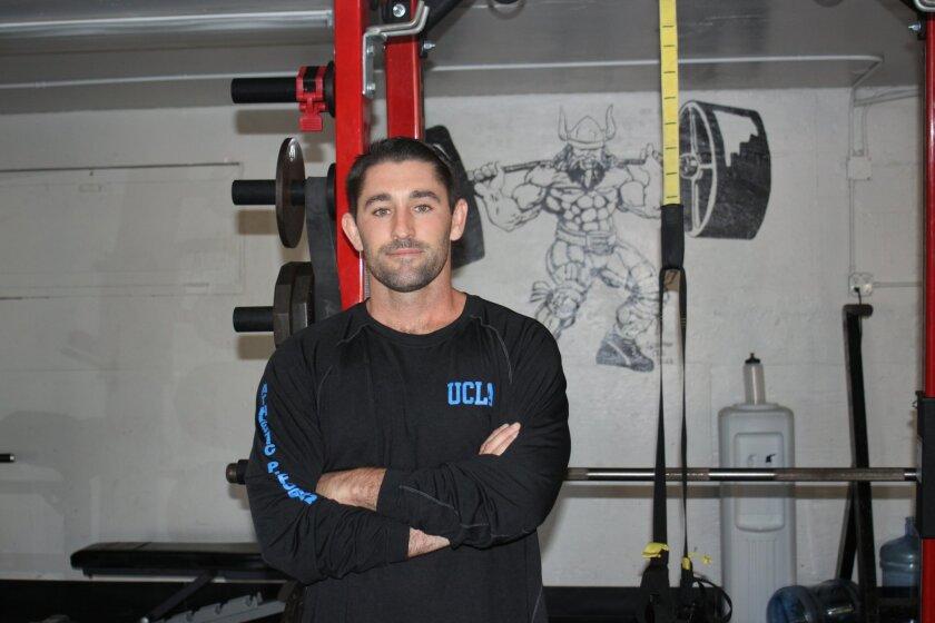 La Jolla High School strength and conditioning coach Ryan Lennard.