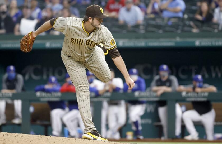 The Padres' Drew Pomeranz