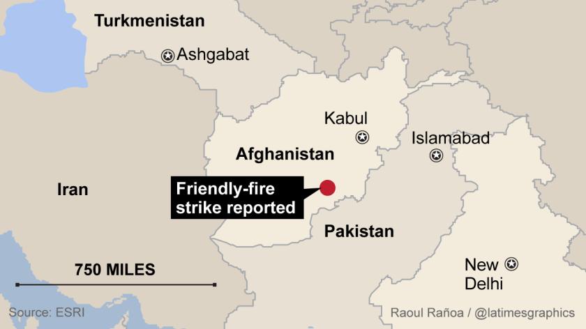 5 U.S. soldiers killed in apparent friendly-fire strike in Afghanistan