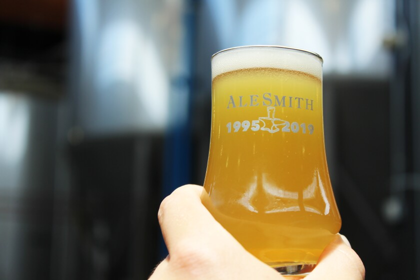 AleSmith celebrates its 24-year anniversary on Aug. 9-11.