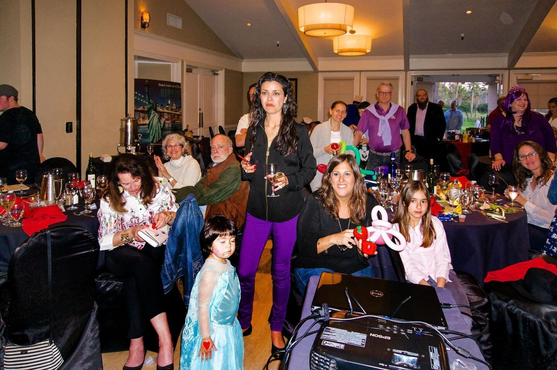 Purim celebration in RSF