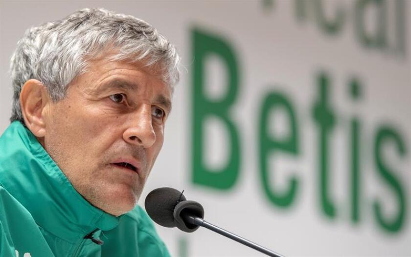 El entrenador del Real Betis, Quique Setién. EFE/Archivo