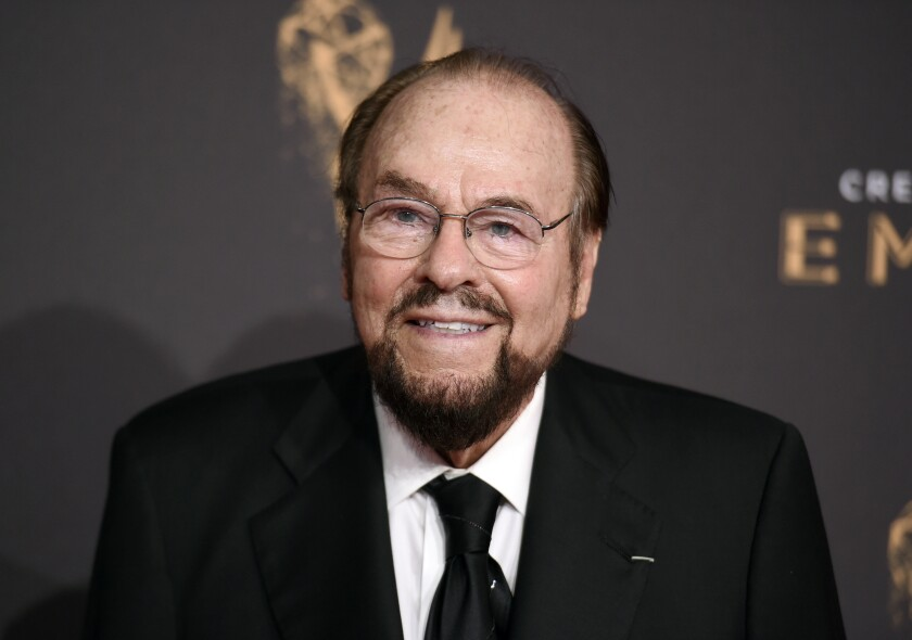 FILE - This Sept. 9, 2017 file photo shows James Lipton at the Creative Arts Emmy Awards in Los Angeles. Lipton died Monday, March 2, 2020, of bladder cancer at his New York home, his wife, Kedakai Lipton, told the New York Times and the Hollywood Reporter. He was 93. (Photo by Richard Shotwell/Invision/AP, File)