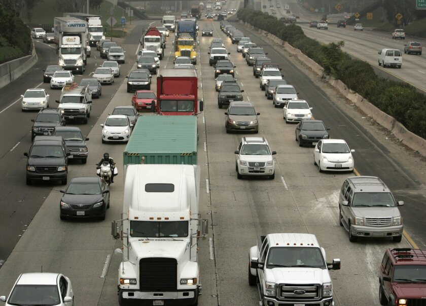 Two courts have found that SANDAG's long-range plan for transportation, which guides projects such as the proposed widening of Interstate 5, doesn't meet state rules dealing with climate change.