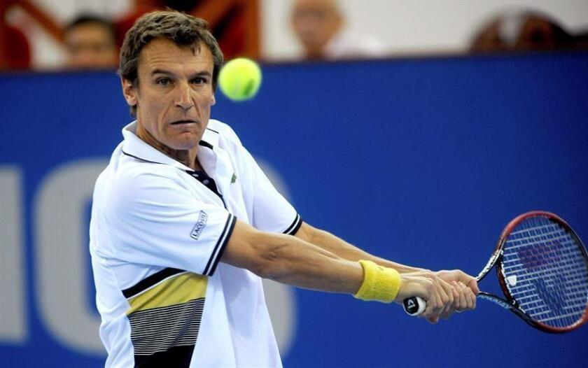 El tenista ex número uno del mundo, Mats Wilander. EFE/Archivo