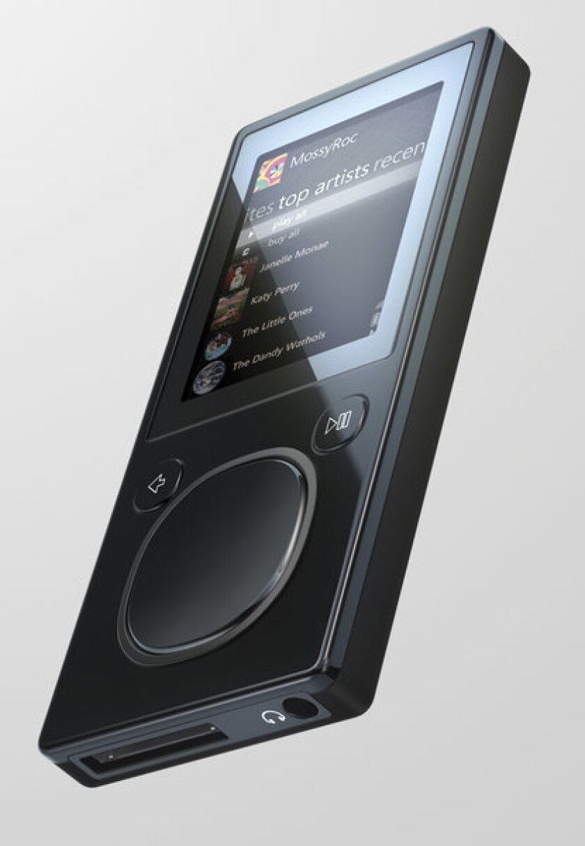 The Microsoft Zune 16 portable media player, a second-generation of the Zune, was released in November 2007. Apple had sold nearly 100 million iPods by the time Microsoft sold its first competing device in 2006. The Zune was taken off the market in 2011.