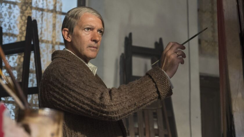 "Antonio Banderas stars as the older Pablo Picasso in Season 2 of National Geographic's series ""Genius."""