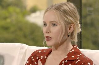 'It's all about Eleanor,' Kristen Bell says of her character's attitude on 'The Good Place'