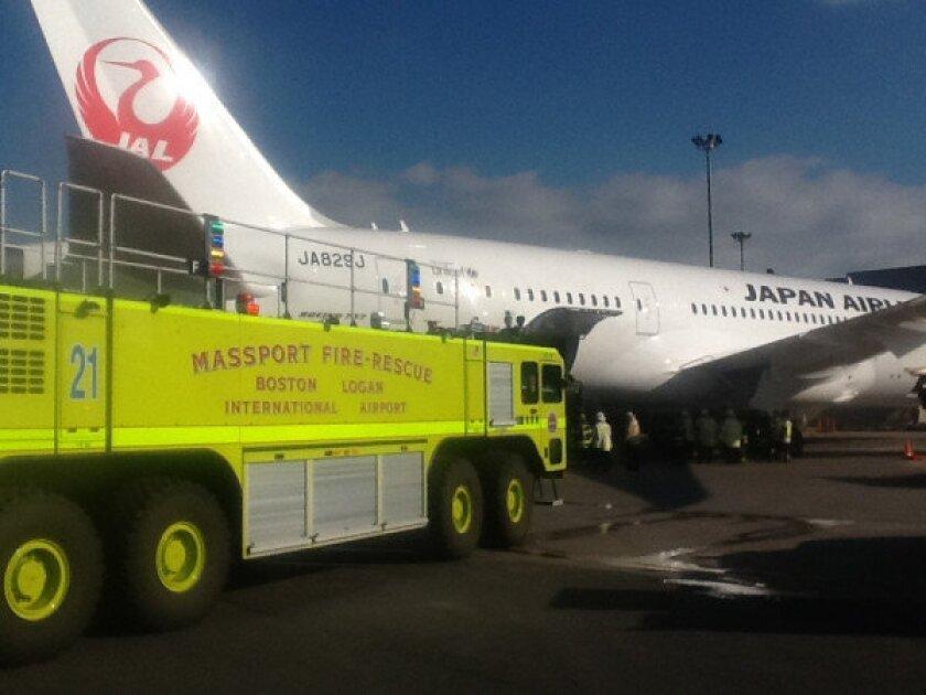 Fire discovered on Boeing Dreamliner minutes after flight lands