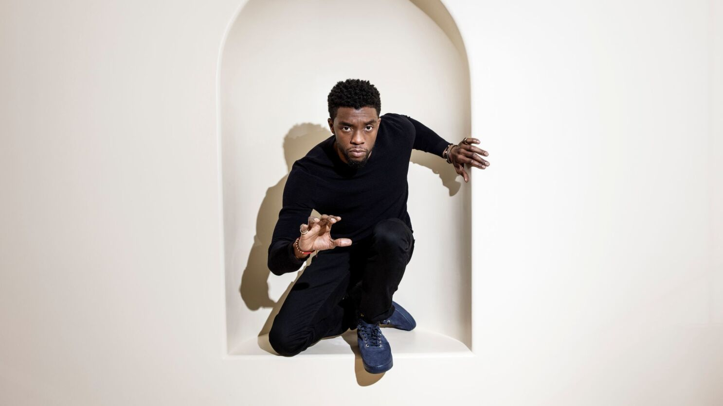 How Chadwick Boseman Brought Power And Purpose To Marvel S Black Panther Los Angeles Times