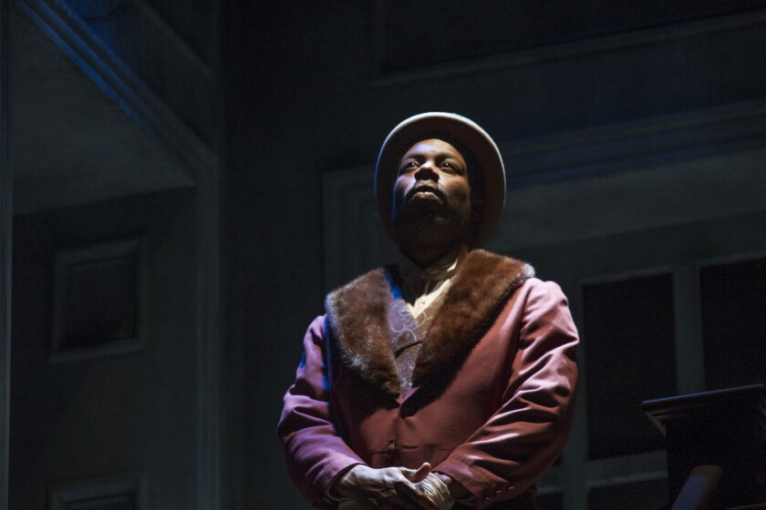 "A changing nation awaits the characters in ""The Whipping Man,"" including the newly freed slave portrayed by Jarrod M. Smith."
