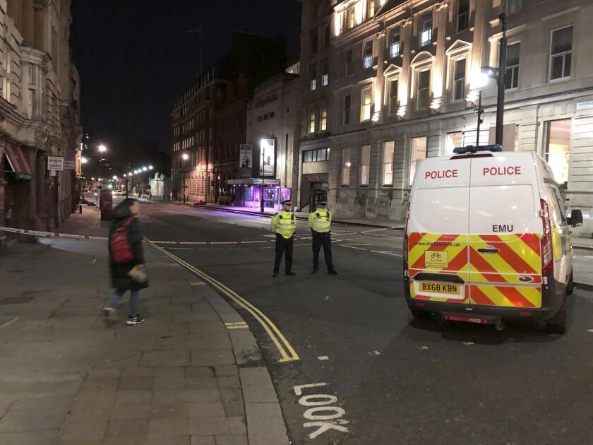 Britain Police Shooting