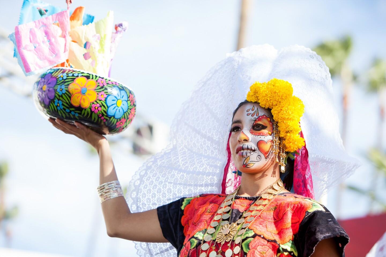 In remembrance of the dead, Dia de los Muertos