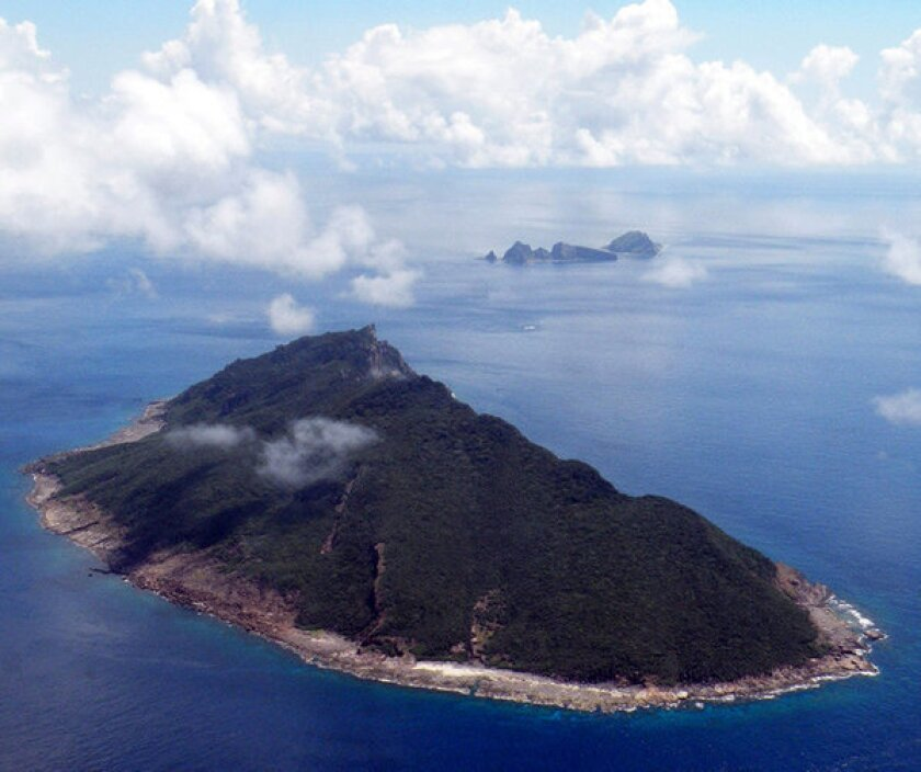 The disputed islands in the East China Sea are known as Senkaku in Japan and Diaoyu in China.