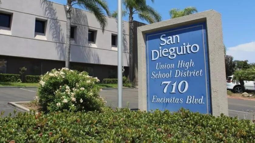 San Dieguito Union High School District administration building.