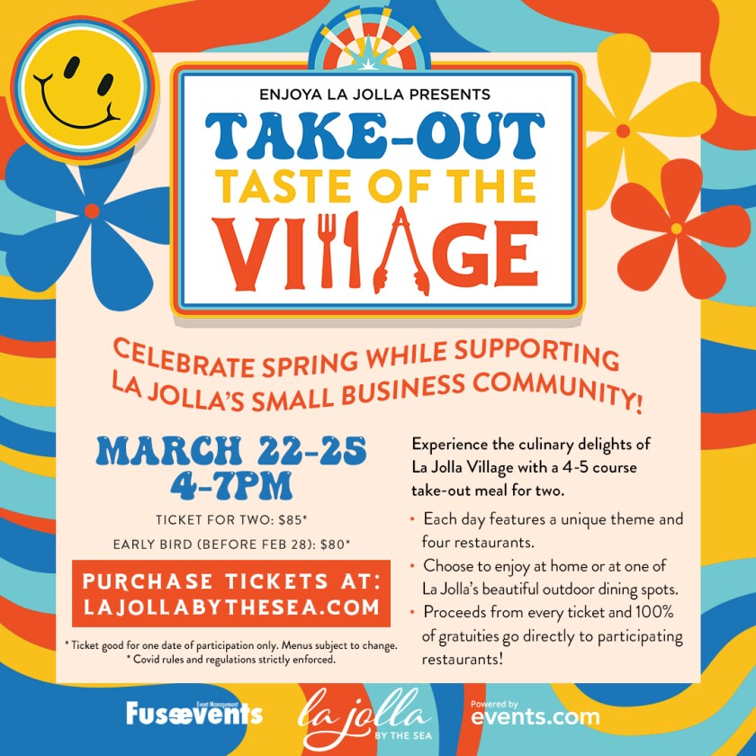 Take-Out Taste of The Village poster art
