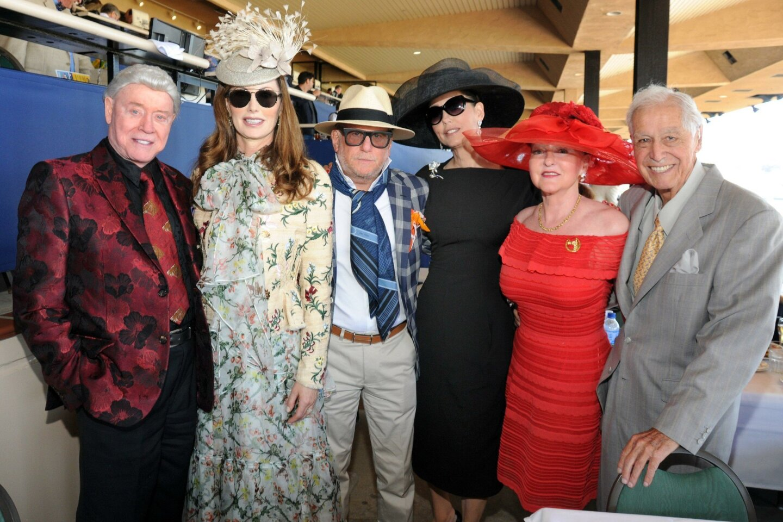 Harry and Valerie Cooper, Gregg and Pam Marks, Valerie and Lenny Recabaren