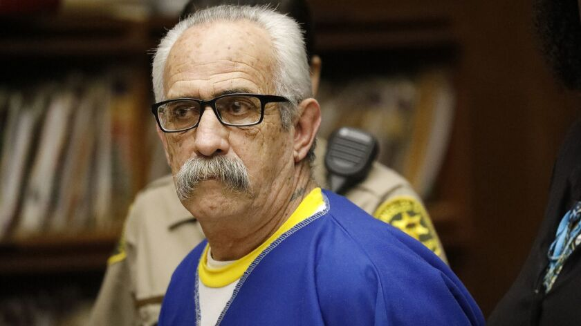 LOS ANGELES, CA - JUNE 17, 2019 - Robert Yniguez, appeared in Torrance Superior Court with his Publi