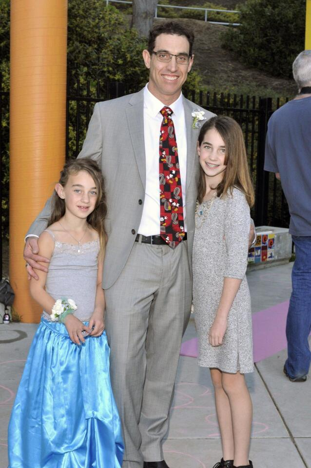 Ian Belderes with Vivian and Giselle