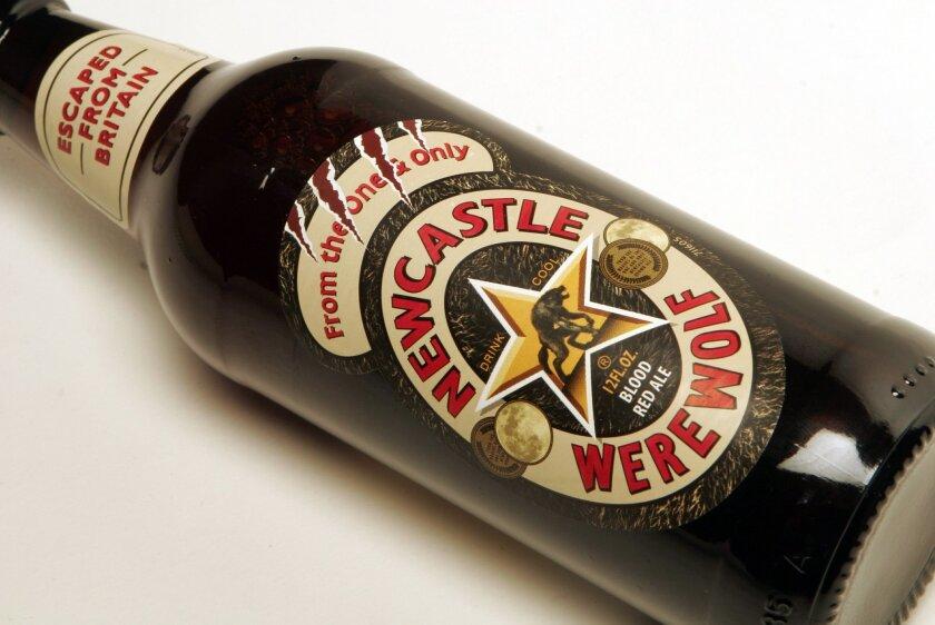 GM_Nwecastle Werewolf---Beer, pour--Newcastle Werewolf. Photo:San Diego Union-Tribune/Gerald McClard.