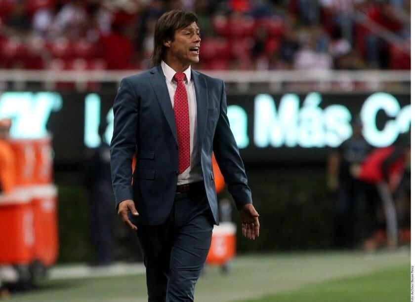 Matías Almeyda, entrenador de Chivas.