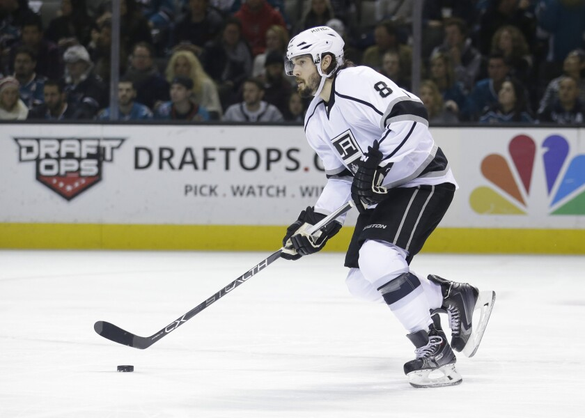 Drew Doughty fills leadership role with Kings