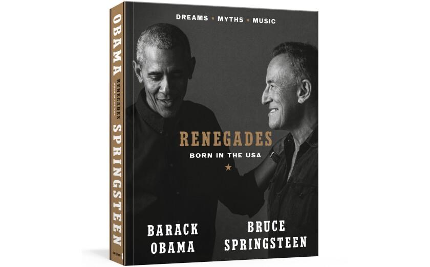 """En esta imagen proporcionada por Crown, la portada del libro """"Renegades: Born in the USA"""""""