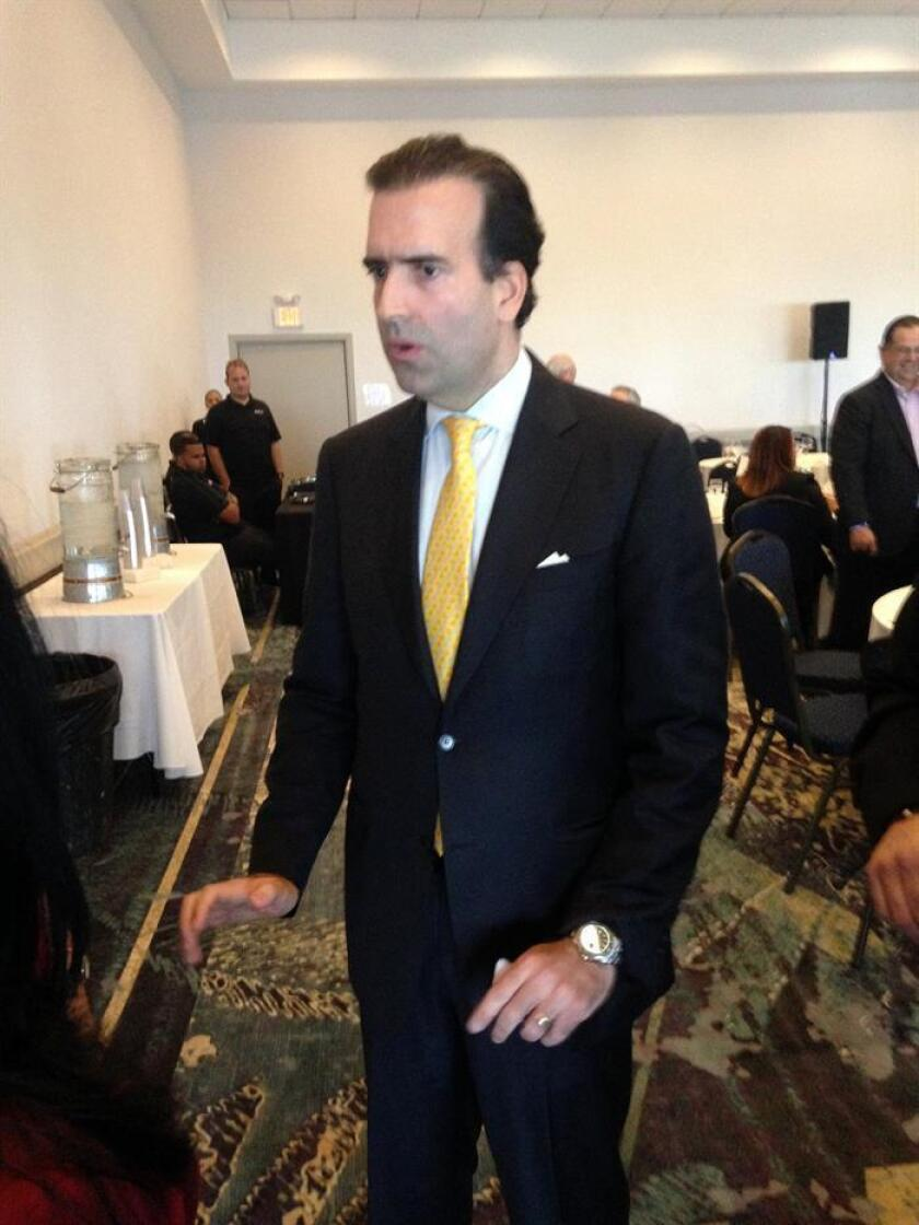 El presidente de la Junta de Supervisión Fiscal (JSF) de Puerto Rico, José Carrión. EFE/Archivo