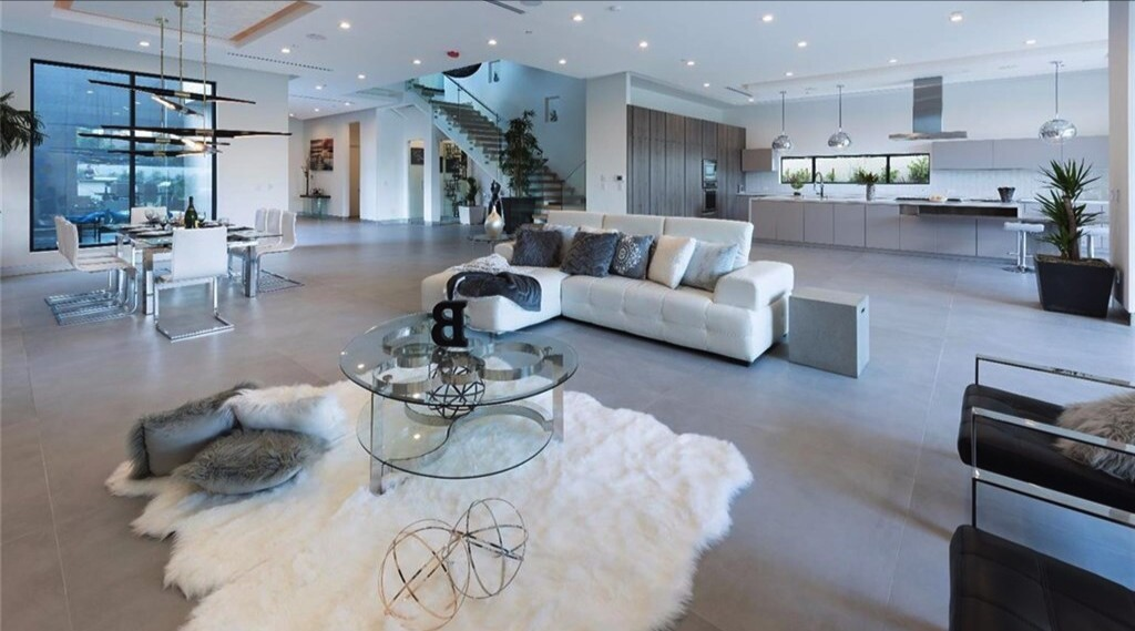 Iman Shumpert and Teyana Taylor's contemporary home in Studio City | Hot Property