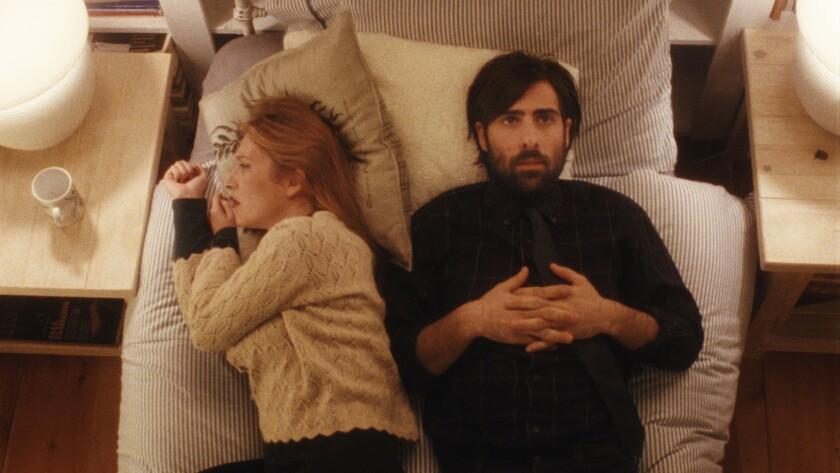 "Josephine de la Baume and Jason Schwartzman in the movie ""Listen Up Philip."""