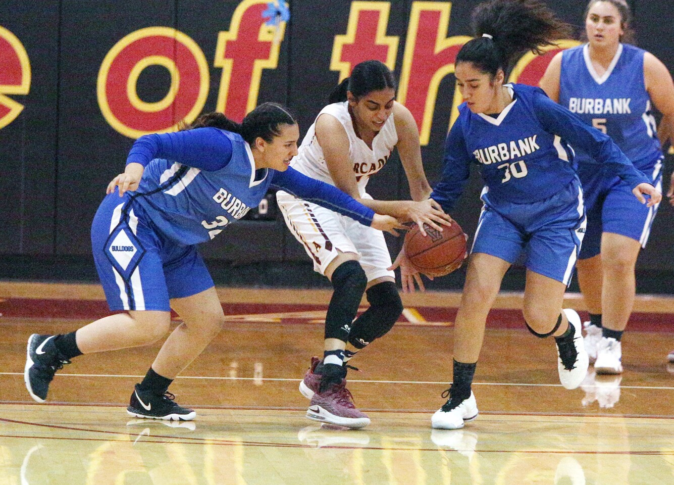 Photo Gallery: Burbank vs. Arcadia Pacific League girls' basketball