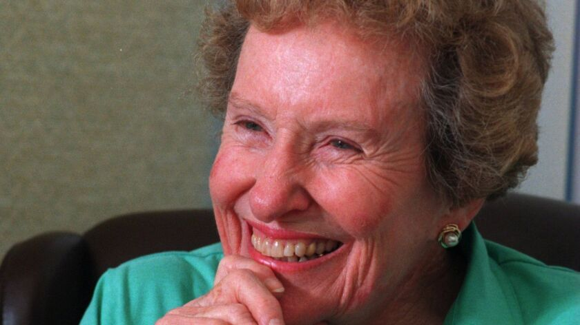 Lucy Killea served two decades on the San Diego City Council and in the state Legislature.