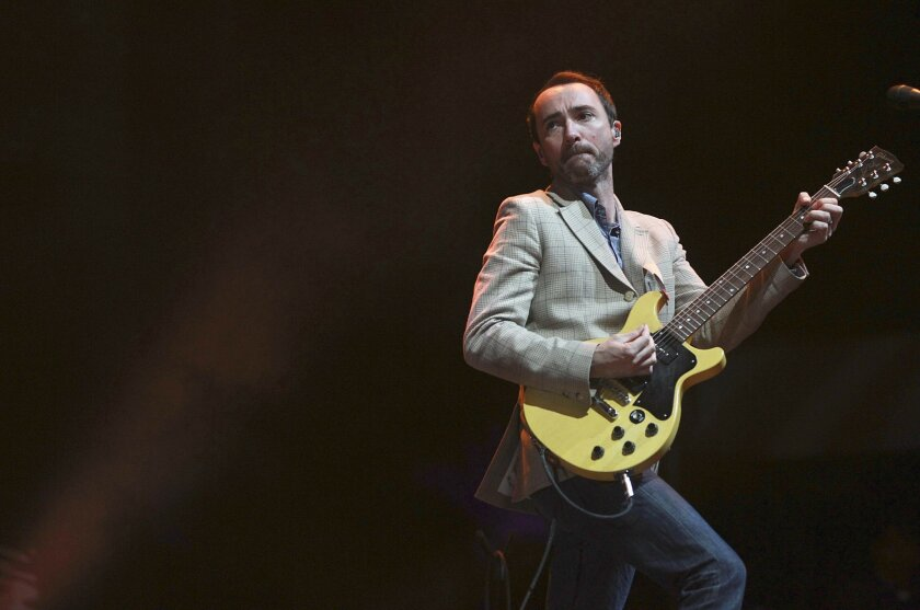 James Mercer of The Shins performs onstage at the Coachella festival in April. Sean M. Haffey • U-T