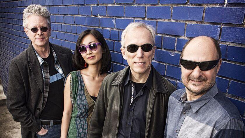 Kronos Quartet: (from left) David Harrington, Sunny Yang, Hank Dutt and John Sherba