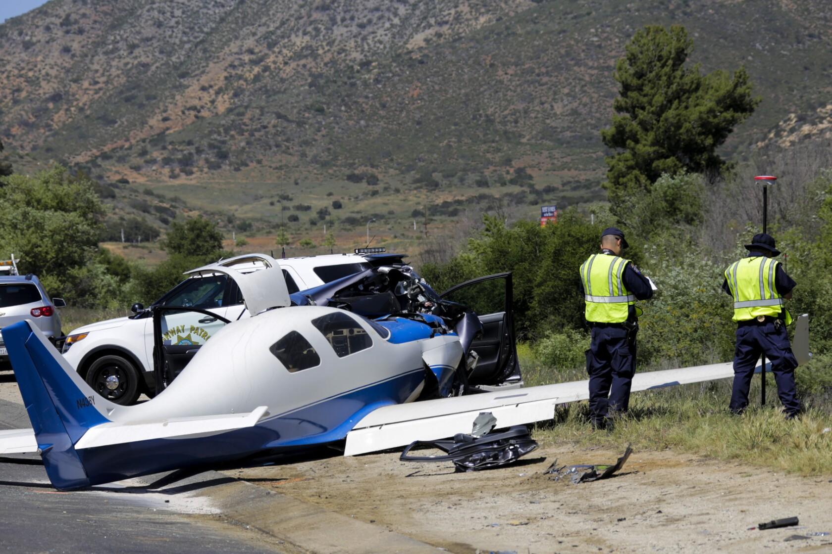Roller Derby skater killed when plane slams into car on