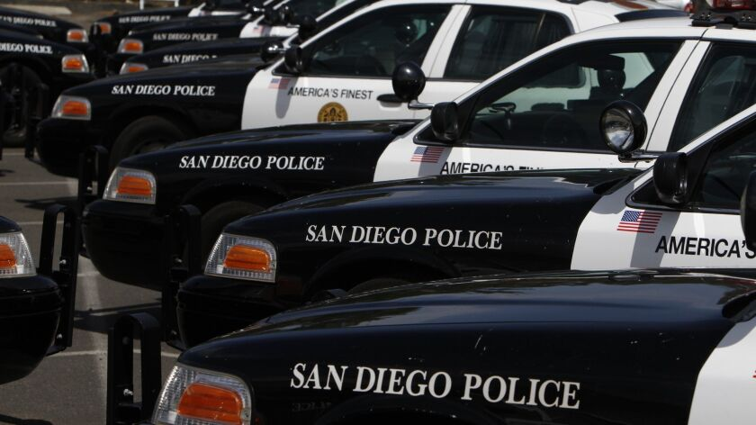 San Diego Police Officer Timothy Romberger, 39, is facing one count of felony assault with a firearm and one count of felony domestic violence.