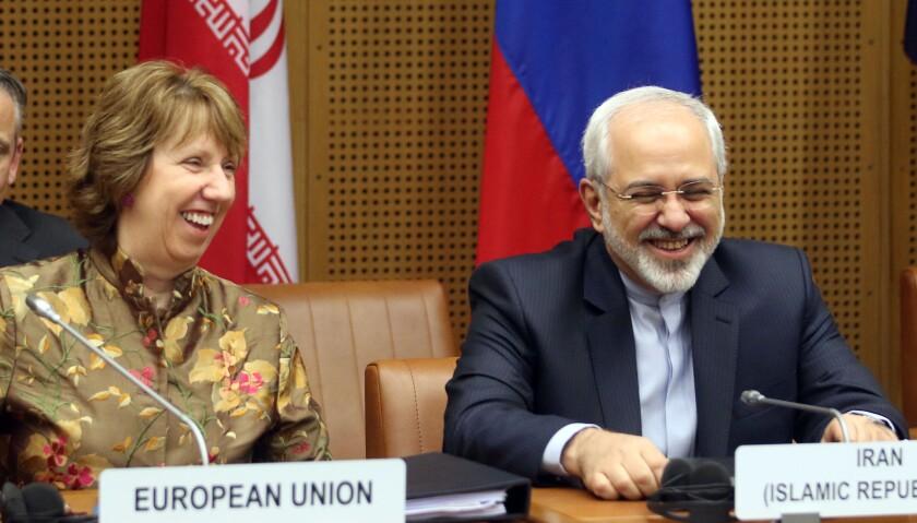 Catherine Ashton, Mohamad Javad Zarif