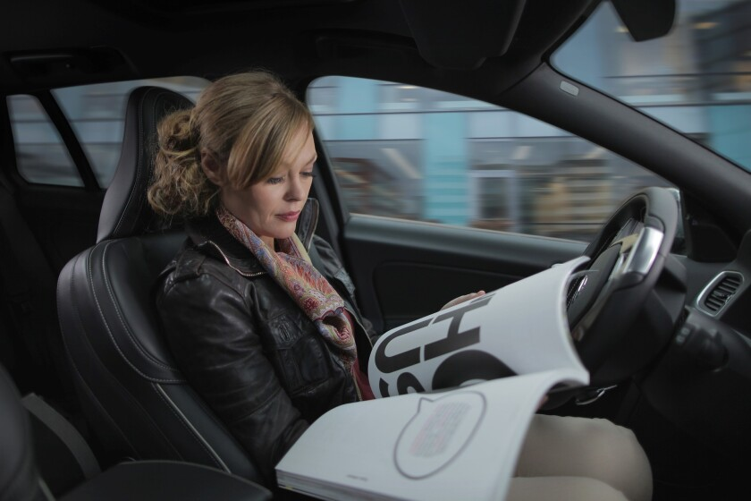 Volvo will introduce 100 self-driving vehicles on Sweden's roads in 2017 as part of a pilot program.