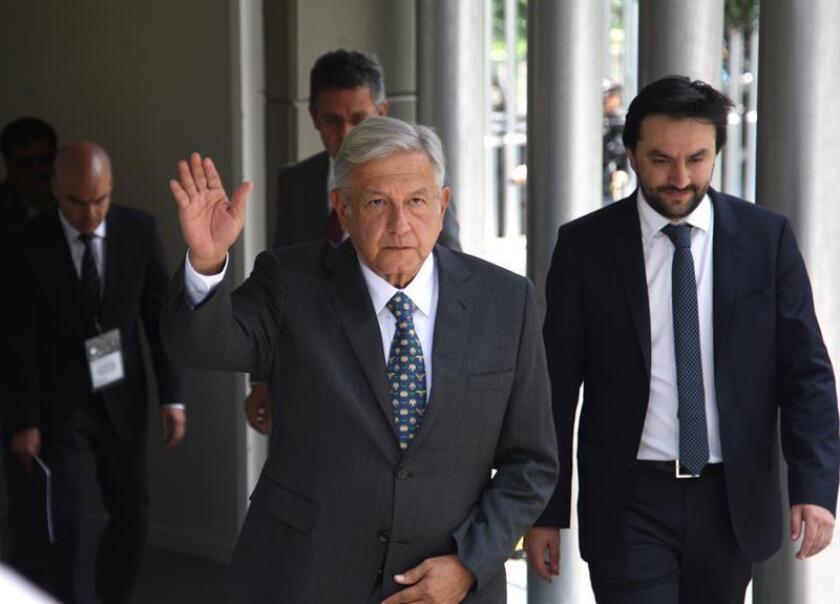 Vista de el presidente electo Andrés Manuel López Obrador. EFE/Archivo