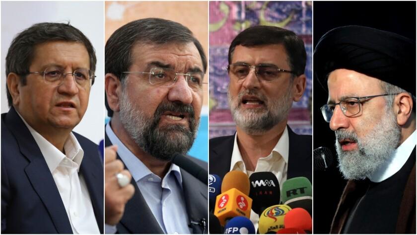 چهار نامزد انتخابات ریاست جمهوری در ایران