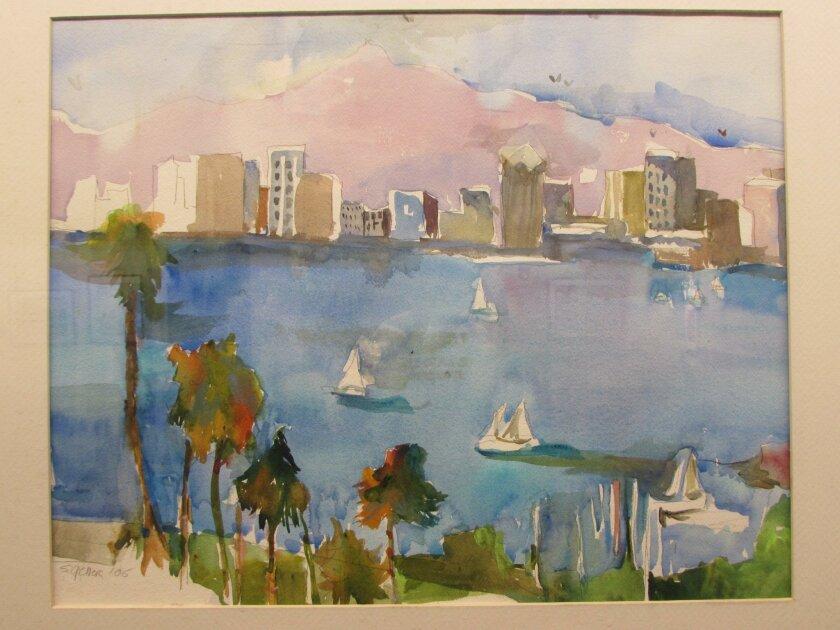 A work by Suzanne Geller