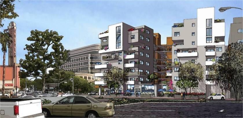 Apartment, retail complex underway near Culver City