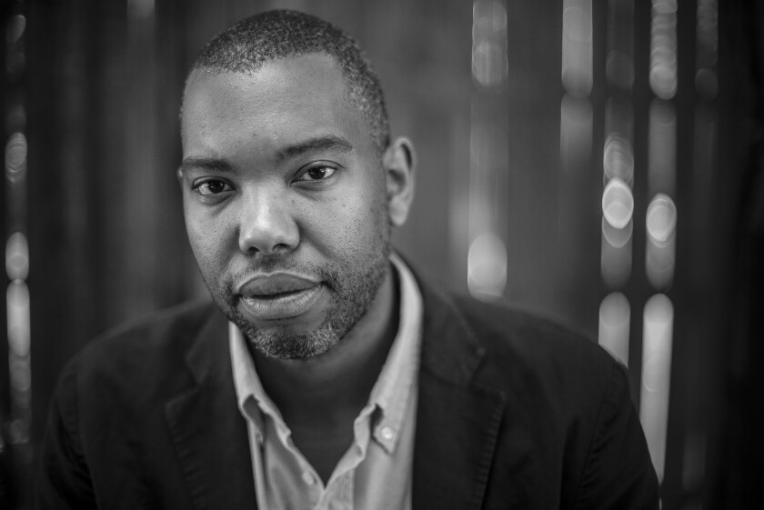 Author Ta-Nehisi Coates in Baltimore City, Md., on July 16, 2015.