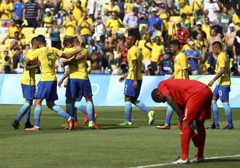 Football - Men's Tournament Semifinal Brazil v Honduras