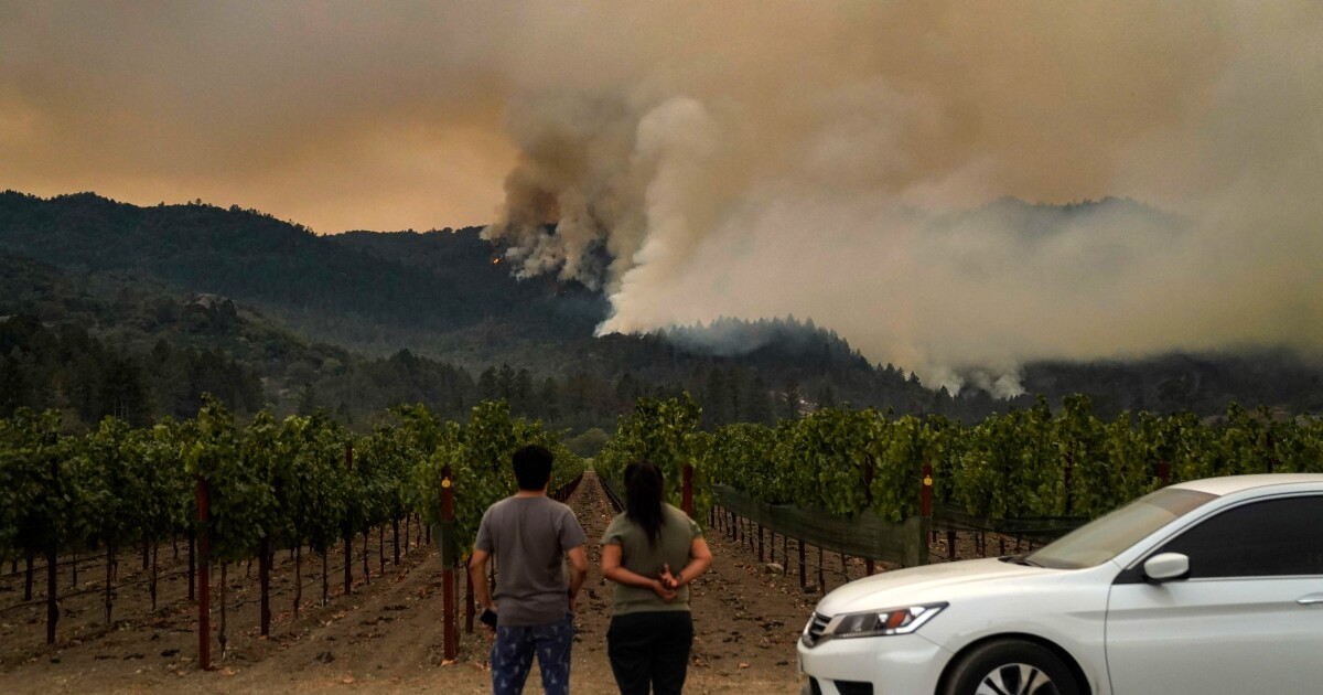 How wine country became the epicenter for fires in California