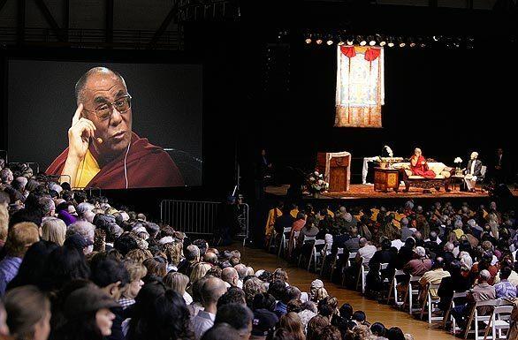 Dali Lama in Santa Barbara
