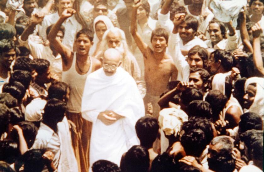 """Ben Kingsley in """"Gandhi"""" (1982)."""